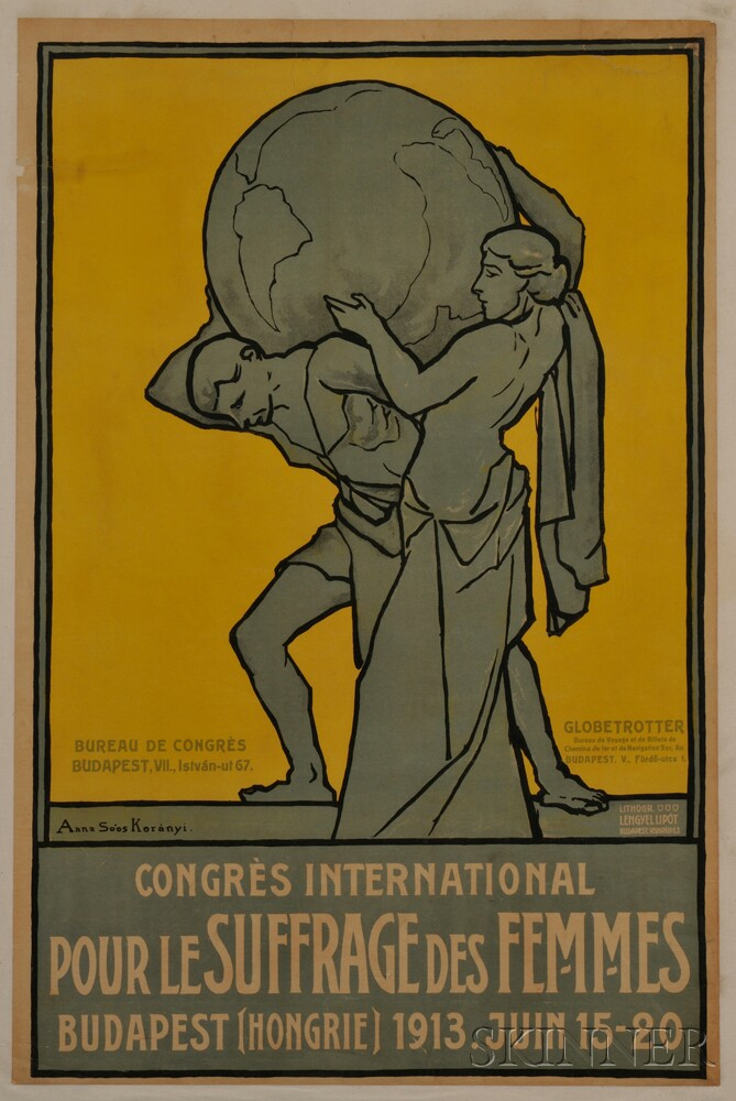 Koranyi, Anna So'os (1870-1947) Congres International pour le Suffrage des Femmes