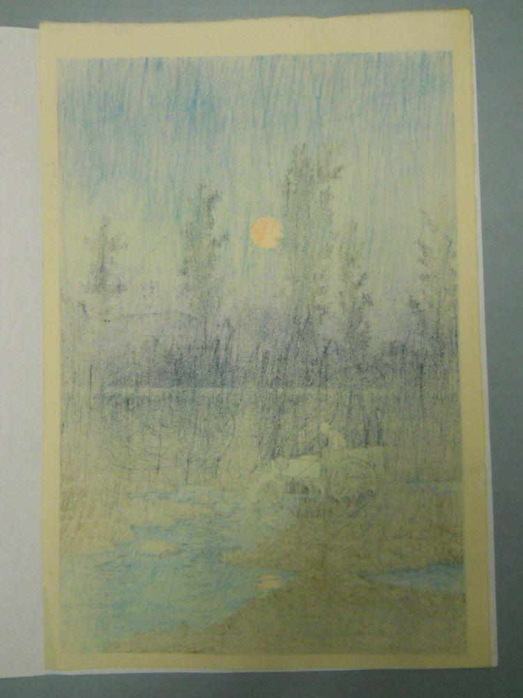 Kawase Hasui (1883-1957), Four Woodblock Prints