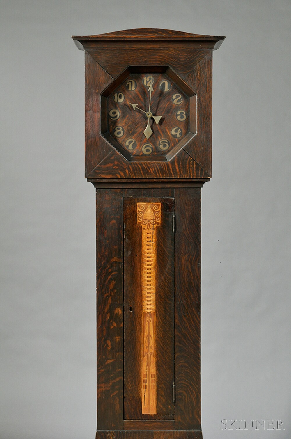 Shop of the crafters arts crafts tall clock sale for Arts and crafts clocks for sale