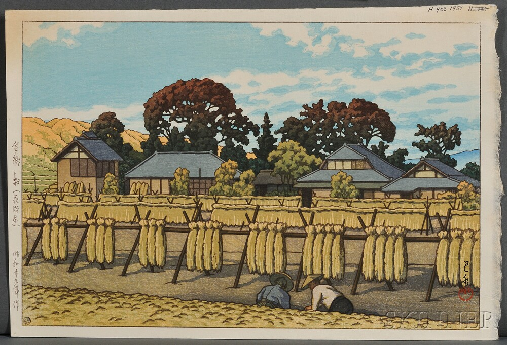 Kawase Hasui (1883-1957), Five Color Woodblocks