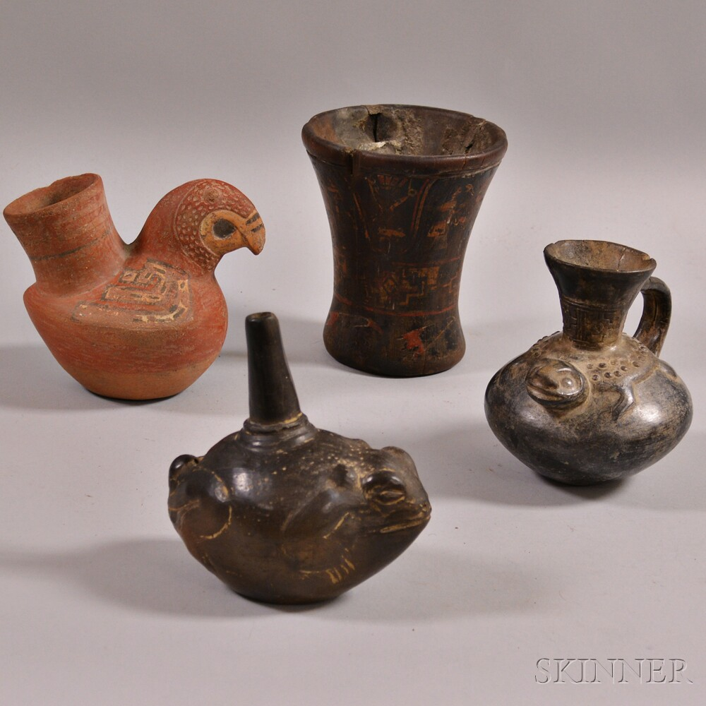 Four Items from Peru