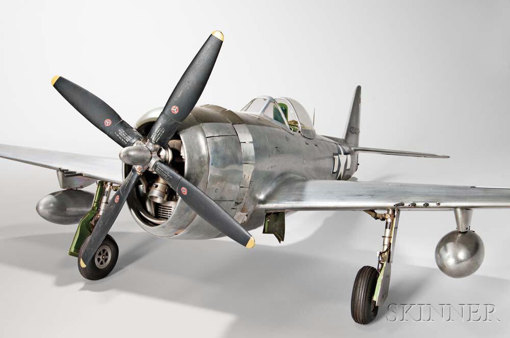 Republic-47D Thunderbolt U-control Model Airplane by Ernest Berke