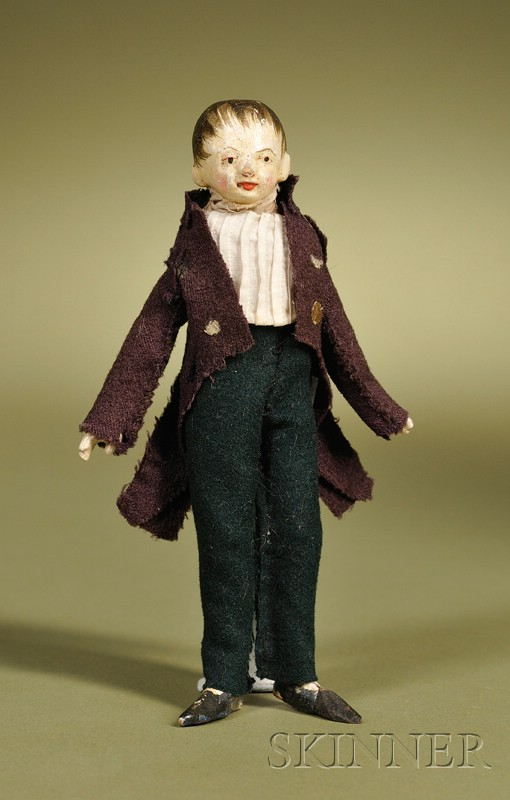 Late 18th Century Wooden Gentleman