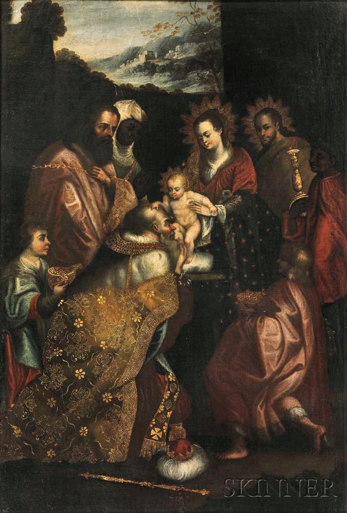 Central European School, 16th Century      Adoration of the Magi