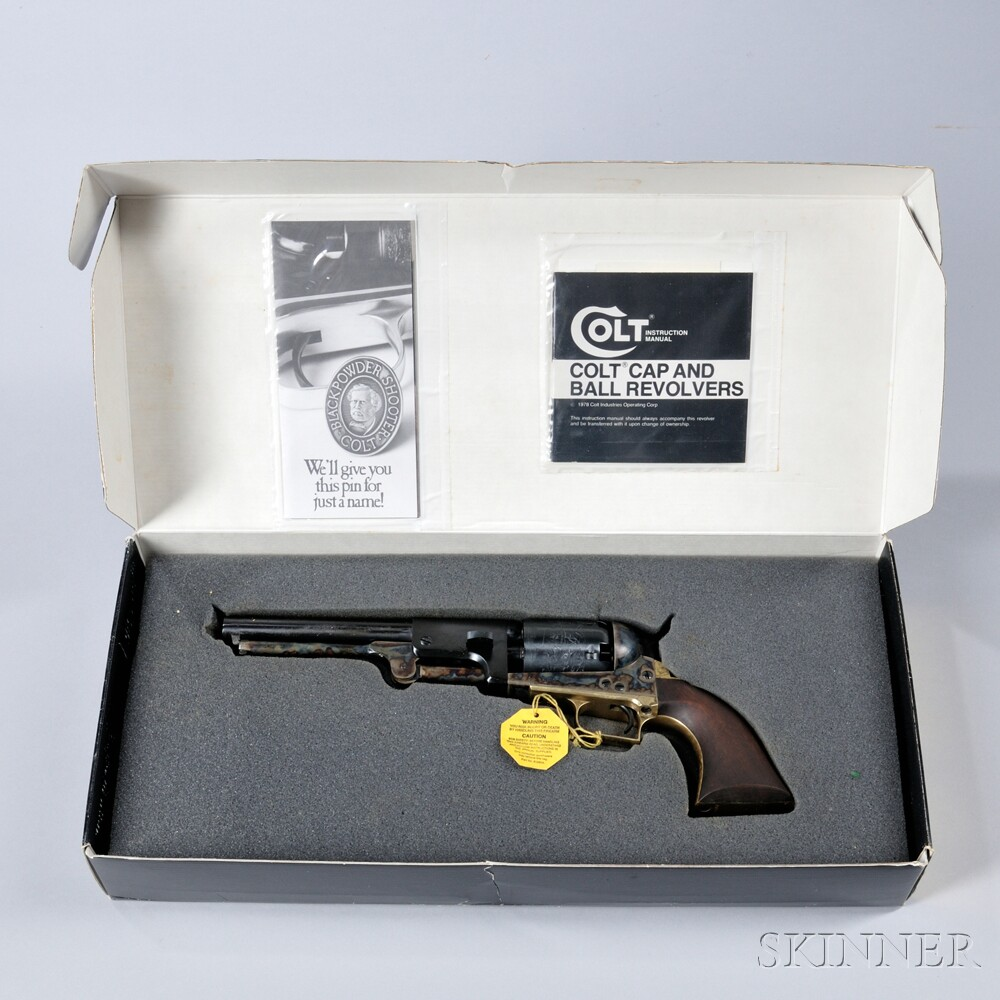 Colt Second Model Dragoon Authentic Black Powder Series Revolver