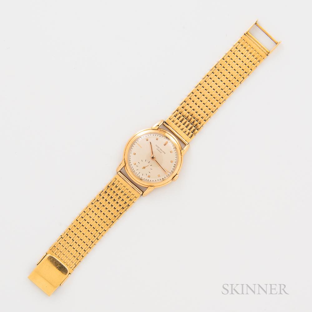 Patek Philippe 18kt Gold Calatrava Reference 2500 Wristwatch
