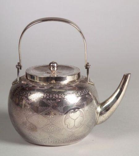 Silver Wine Pot