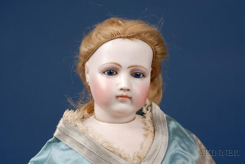 Portrait Jumeau Swivel-Head Fashion Doll and Original Outfits