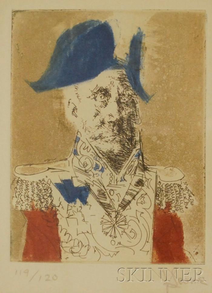 Jack Levine (American, b. 1915)      Italian General