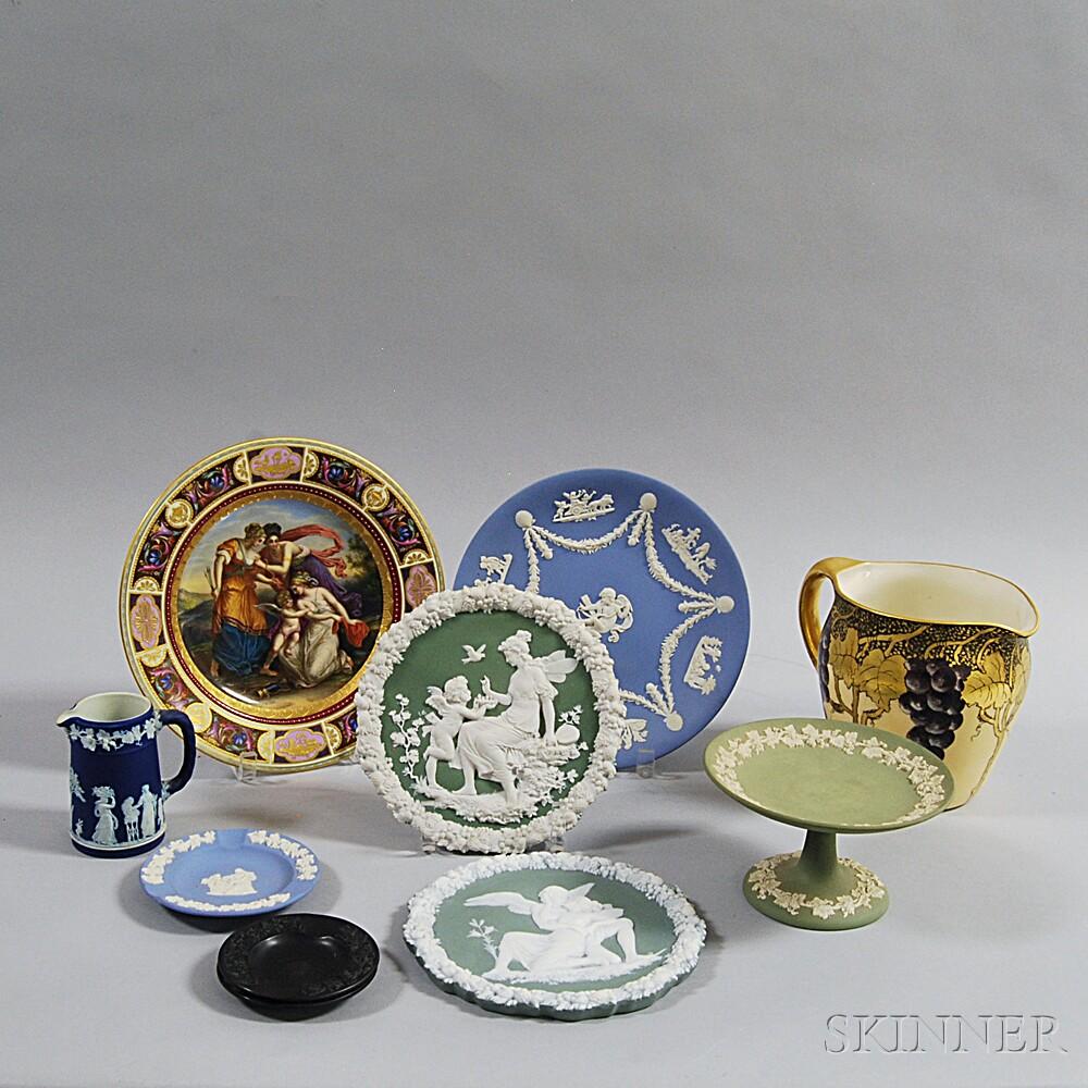 Ten Pieces of Ceramics
