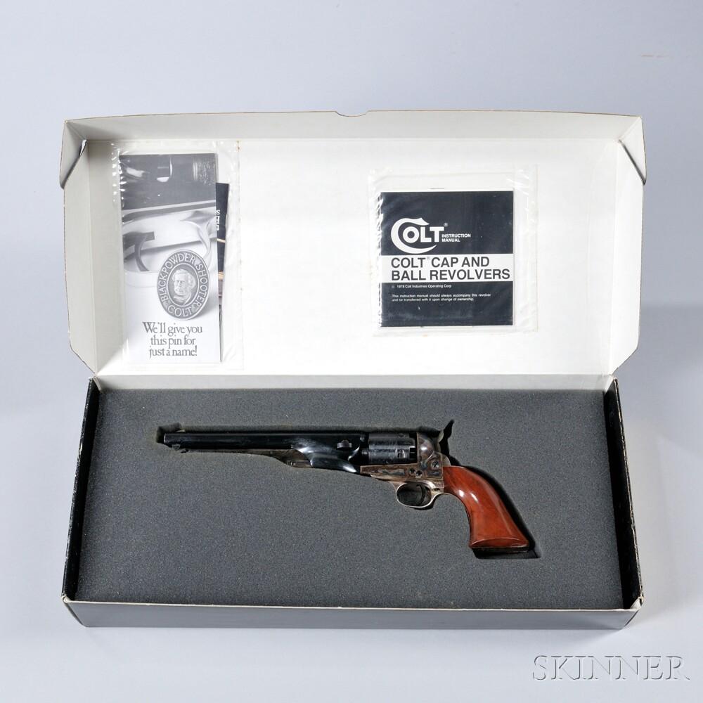 Colt 1861 Navy Authentic Black Powder Series Revolver