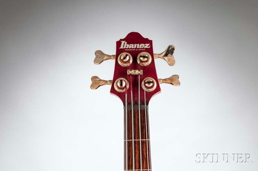 Ibanez RB999 Roadstar II Fretless Electric Bass Guitar, 1983