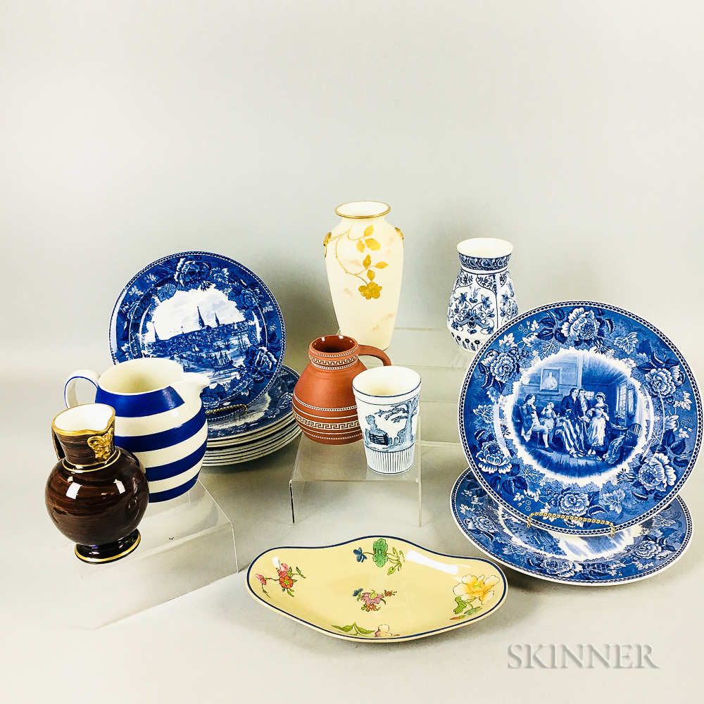 Eighteen Wedgwood Ceramic Items