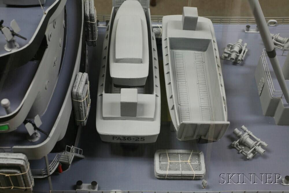 Scale Model of the Attack Transport U.S.S. Cambria