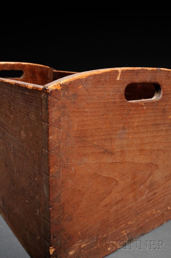 Shaker Pine Storage Box
