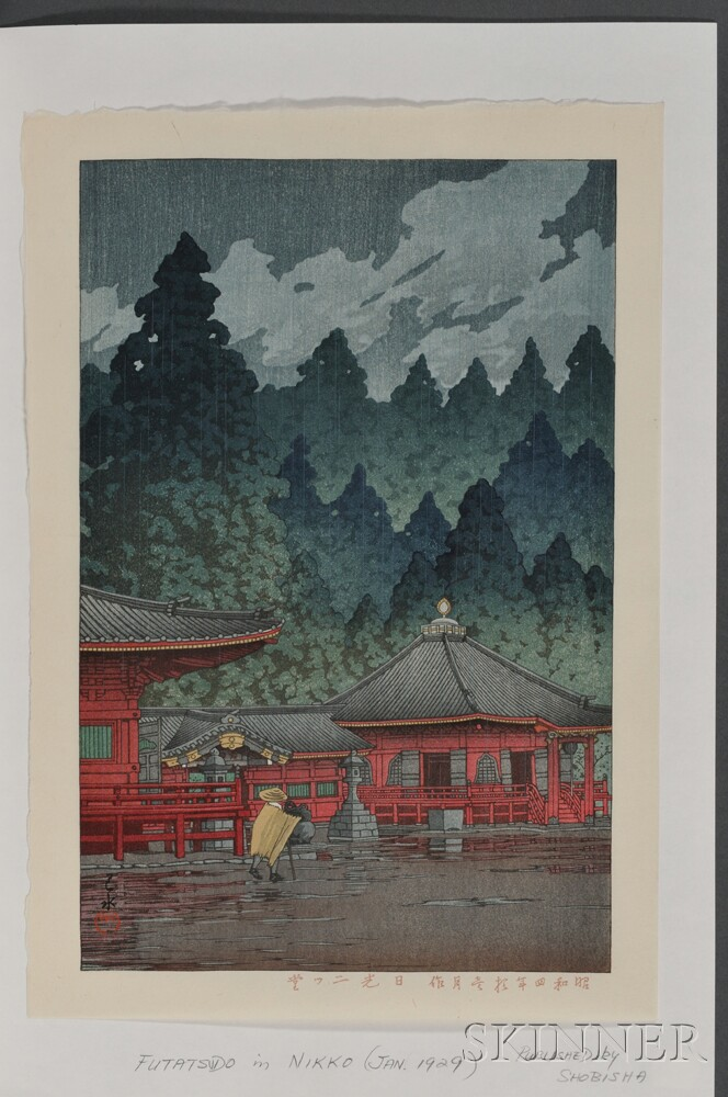 Kawase Hasui (1883-1957), Five Color Woodblocks