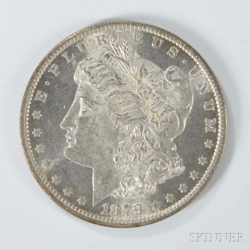 1879-O Morgan Dollar.     Estimate $50-100