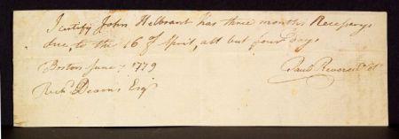 Revere, Paul (1735-1818)