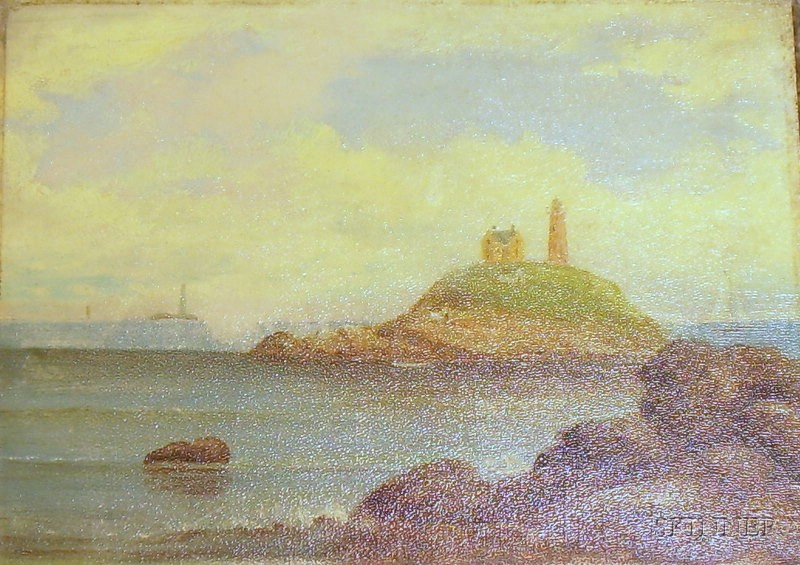 D.A. Fisher (American, 1867-1940)      Lighthouse