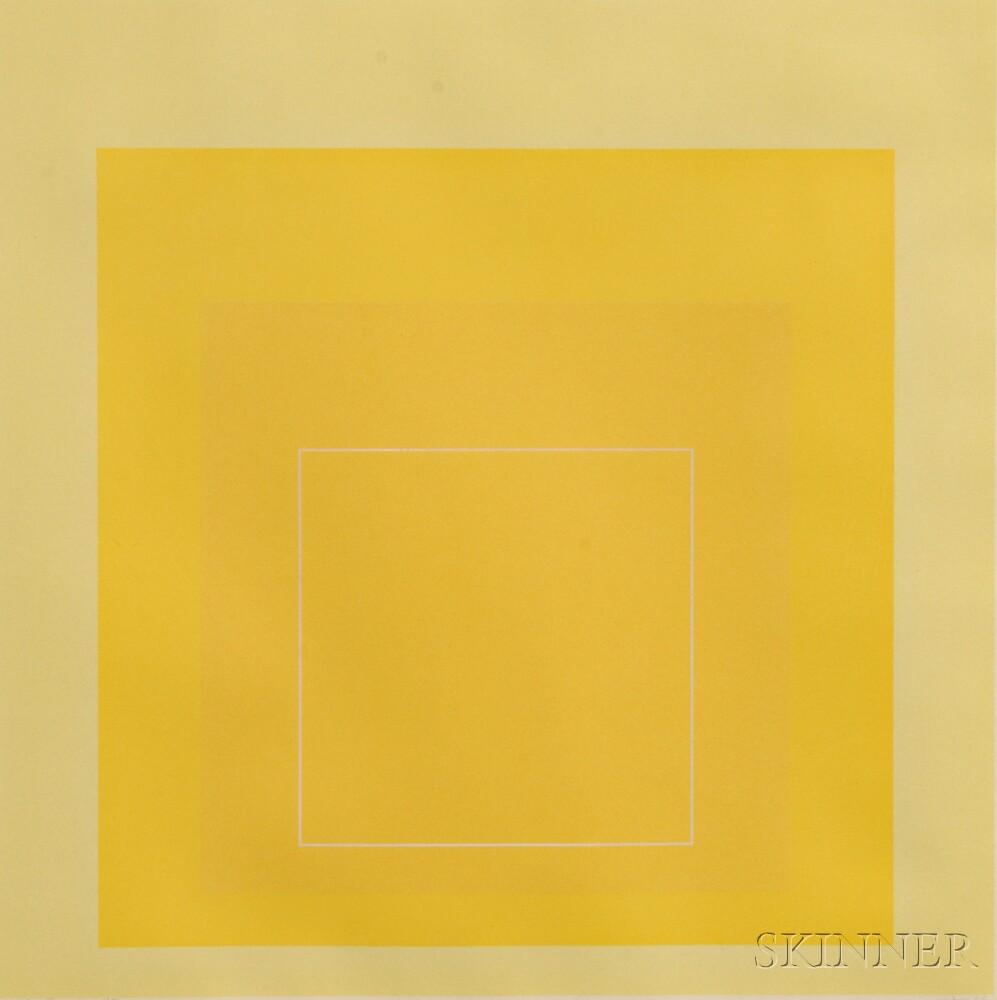 Josef Albers (German/American, 1888-1976)      WLS I