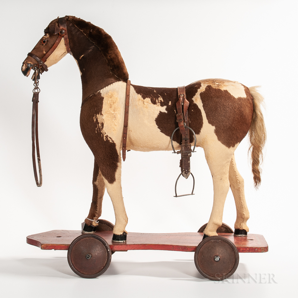 Large Horse Pull Toy