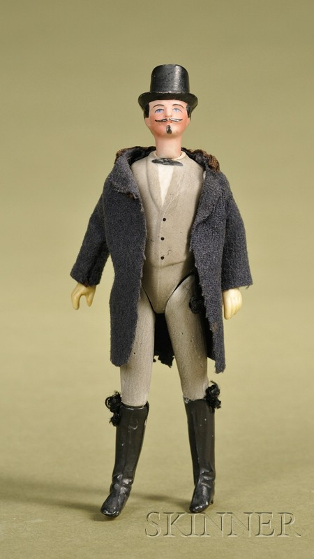 All-Bisque Gentleman with Jointed Knees