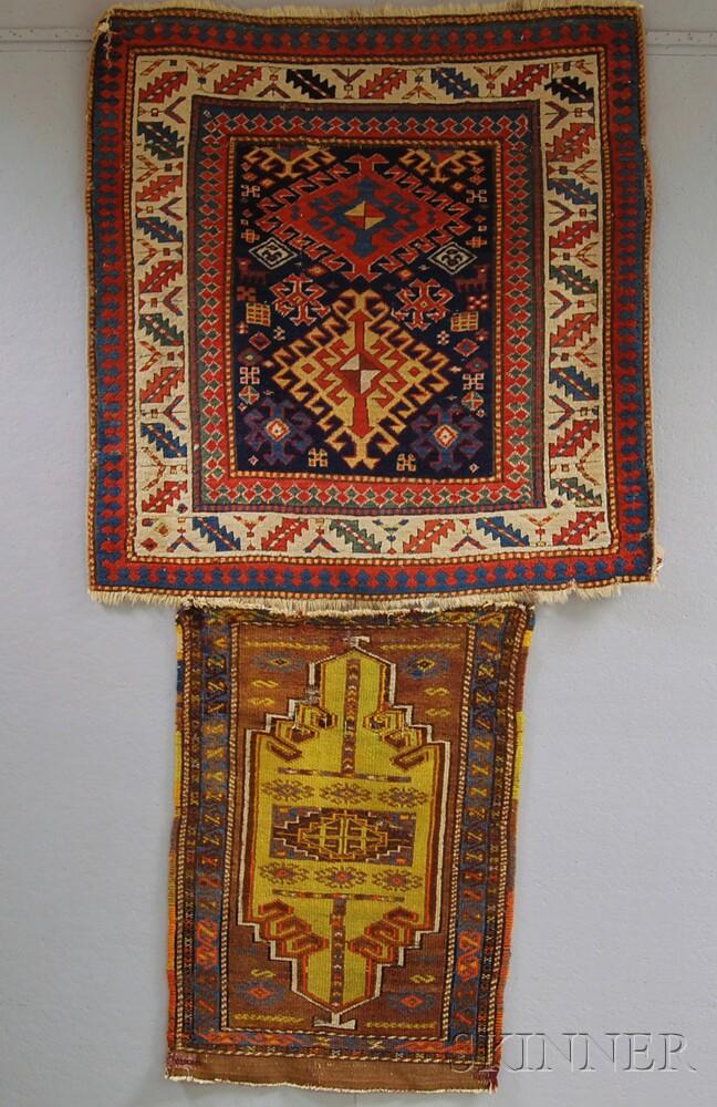 Kazak Fragment and an Anatolian Yastik