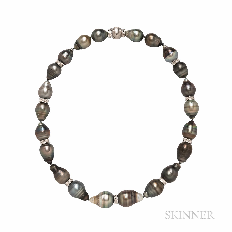 KCJ Baroque Tahitian Pearl Necklace