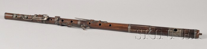 American Eight-Keyed Flute, Allen R. Jollie, New York, c. 1850