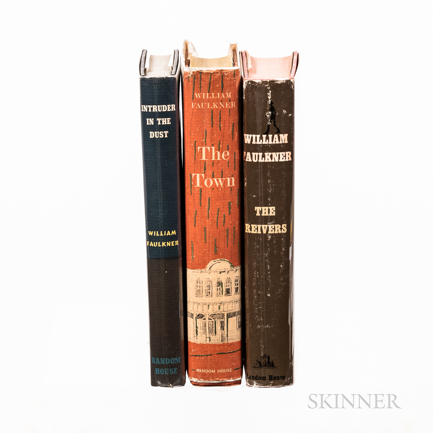 Three First Edition Works by William Faulkner (1897-1962).
