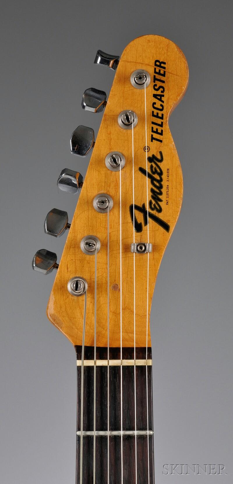 American Electric Guitar, Fender Musical Instruments, Santa Ana, 1967, Model   Telecaster Custom,
