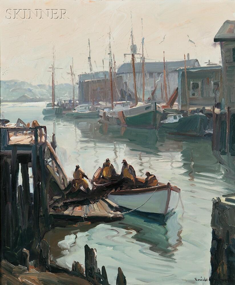 Emile Albert Gruppé (American, 1896-1978)      Morning, Gloucester
