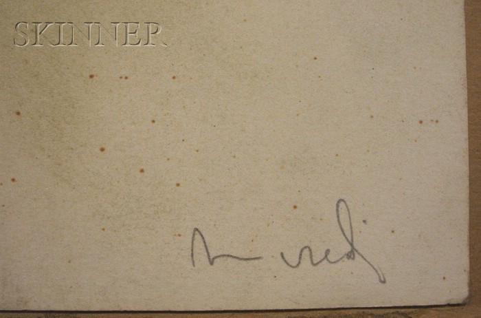 Tancredi Parmeggiani [called Tancredi] (Italian, 1927-1964)      Senza Titolo