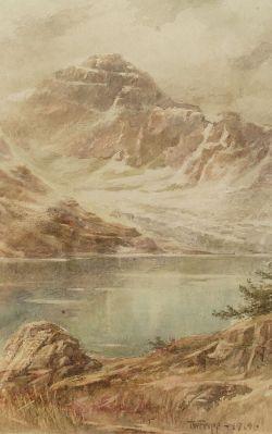 Thomas William Fripp (Canadian, 1864-1931)  The Mountain