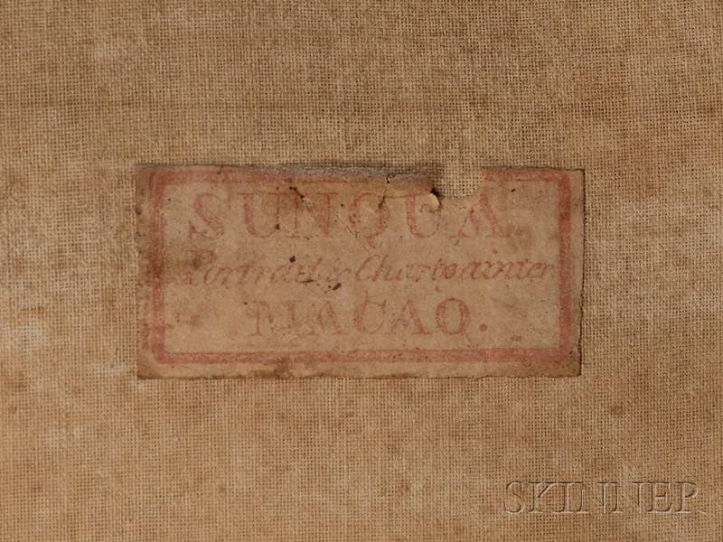 Sunqua (Chinese, ac. 1830-1865)      Macao.