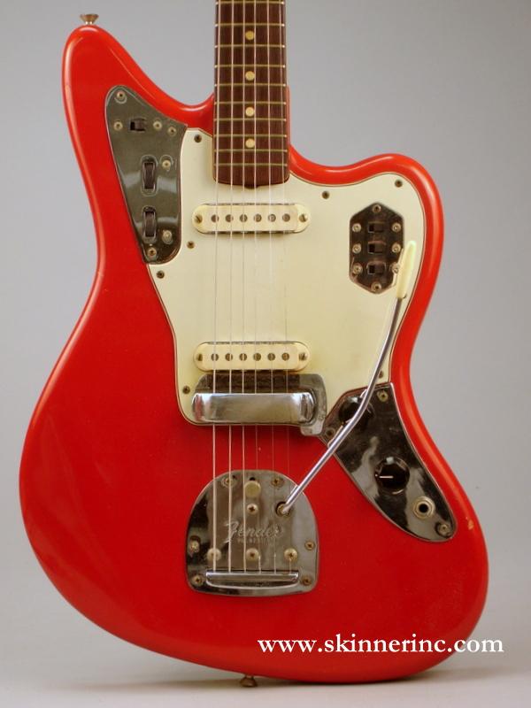 American Electric Guitar, Fender Musical Instruments, Santa Ana, c. 1966, Model Jagu