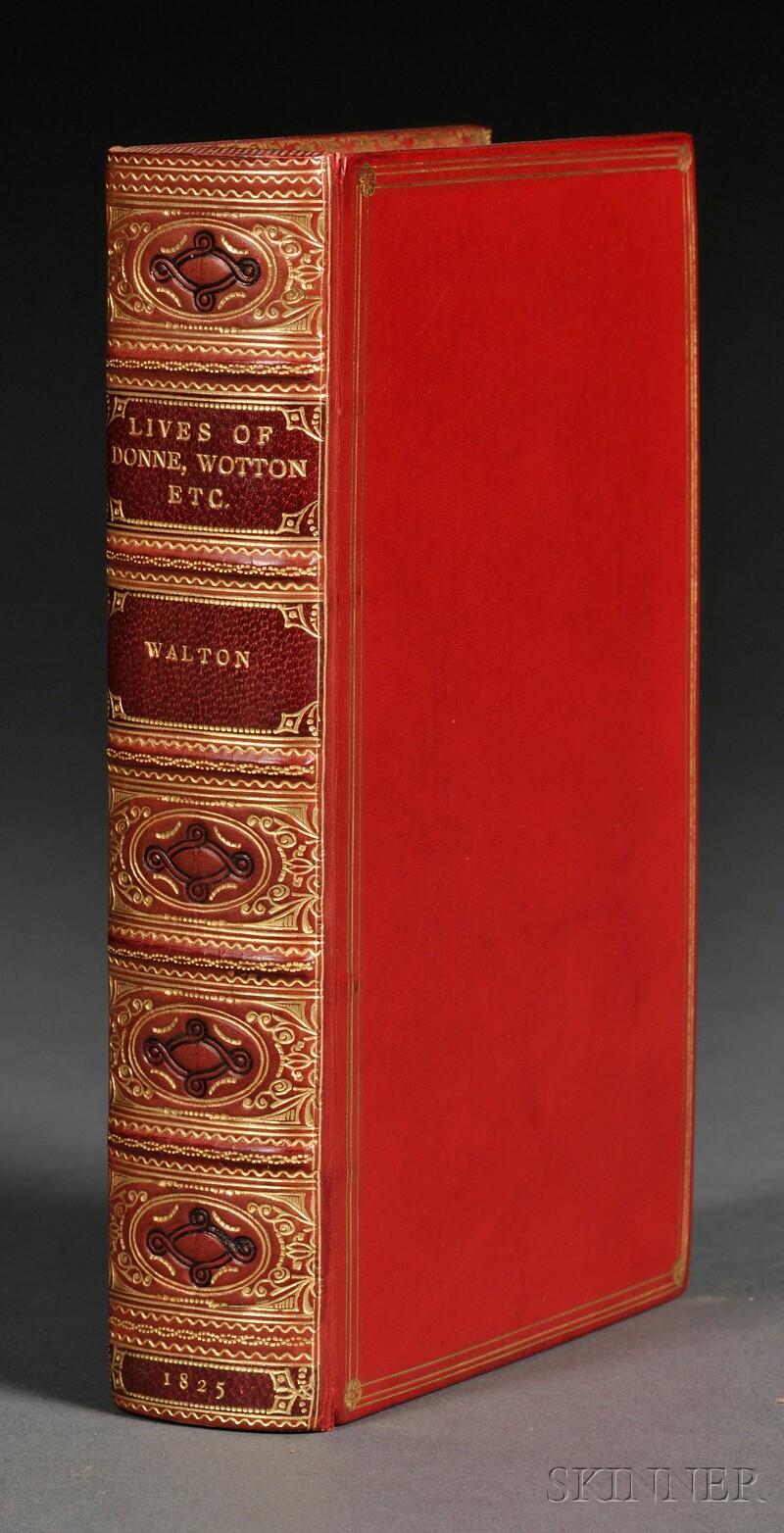 Walton, Izaak (1593-1683), (Decorative Binding)