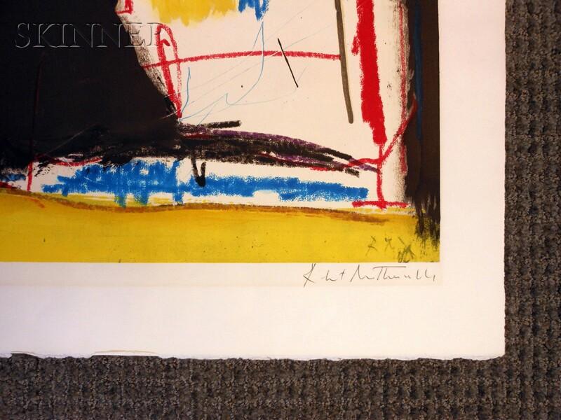 Robert Motherwell (American, 1915-1991)      Capriccio