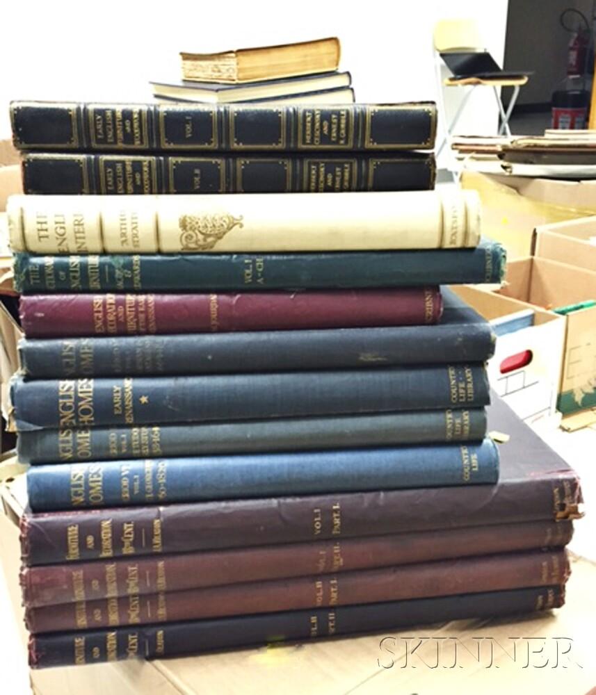 Books Relating to British Furniture, Interiors and Architecture