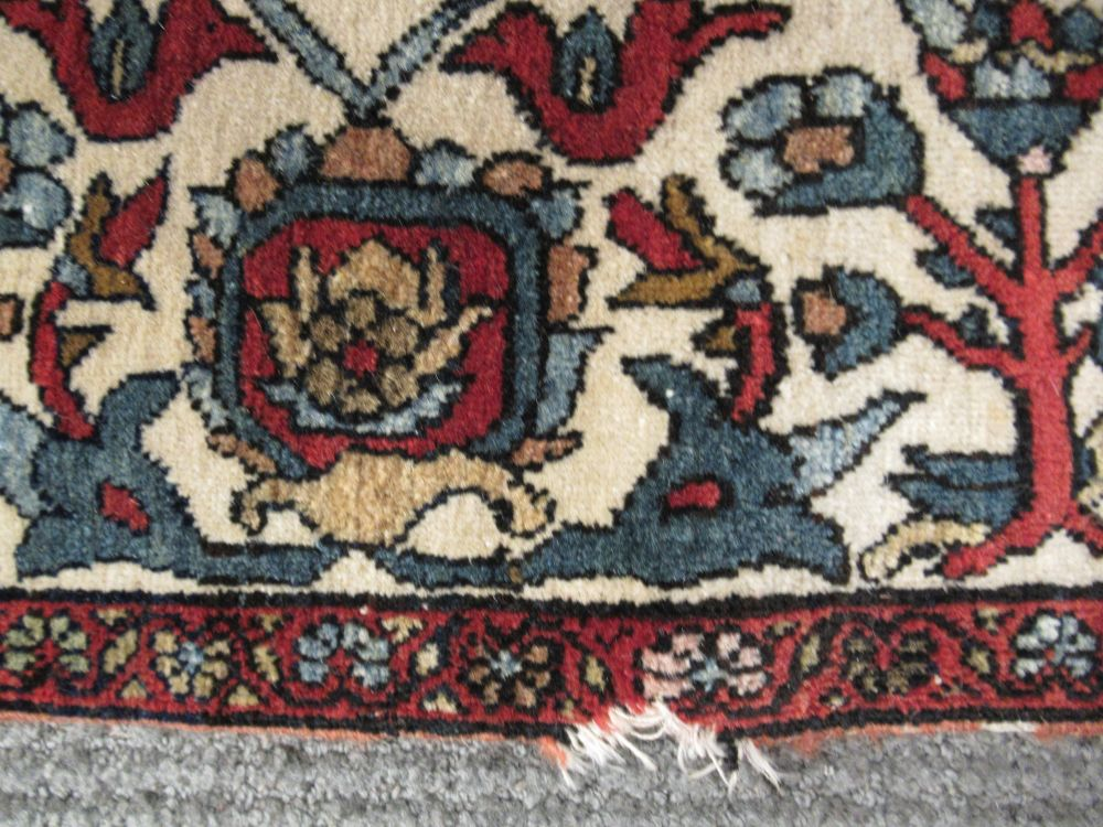 Antique Fereghan Sarouk Rug