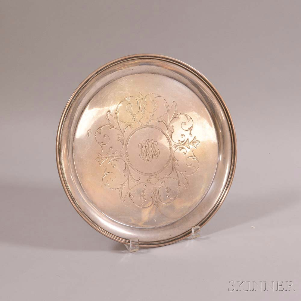S. Kirk & Son Sterling Silver Round Tray