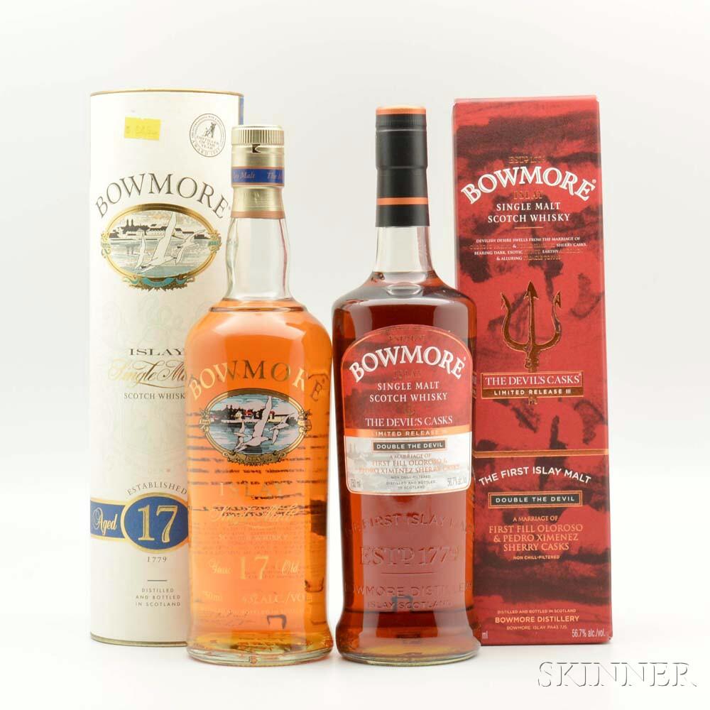 Bowmore, 2 750ml bottles