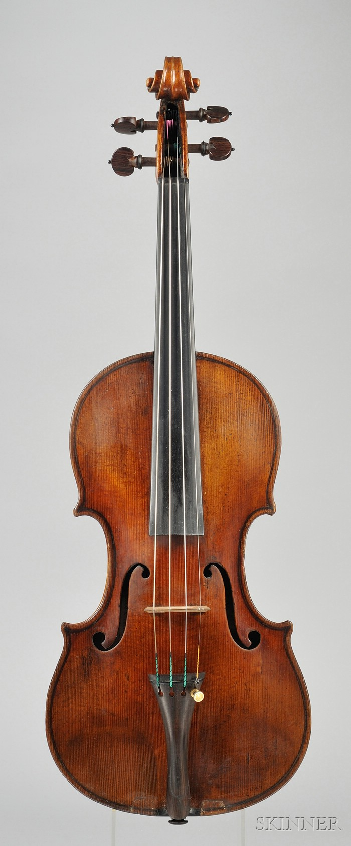 Italian Violin, Attributed to and Probably by Enrico Ceruti, Cremona, 1846