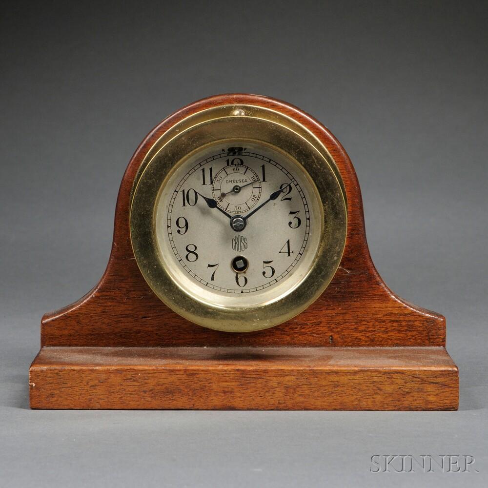 "Chelsea ""Round Automobile Clock,"""