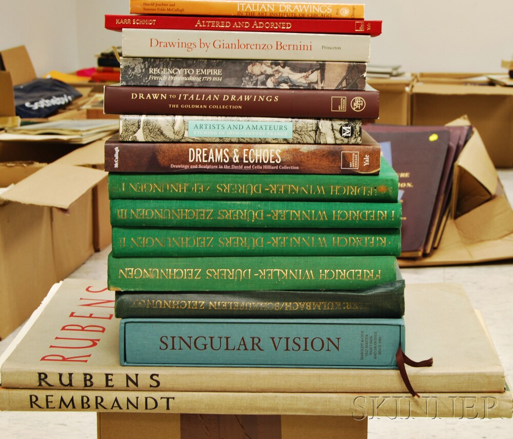 Group of European Art and Artist Related Books and Folios