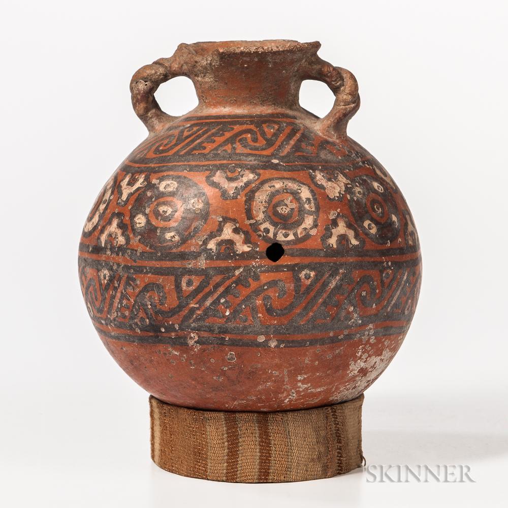 Pre-Columbian Pottery Storage Jar