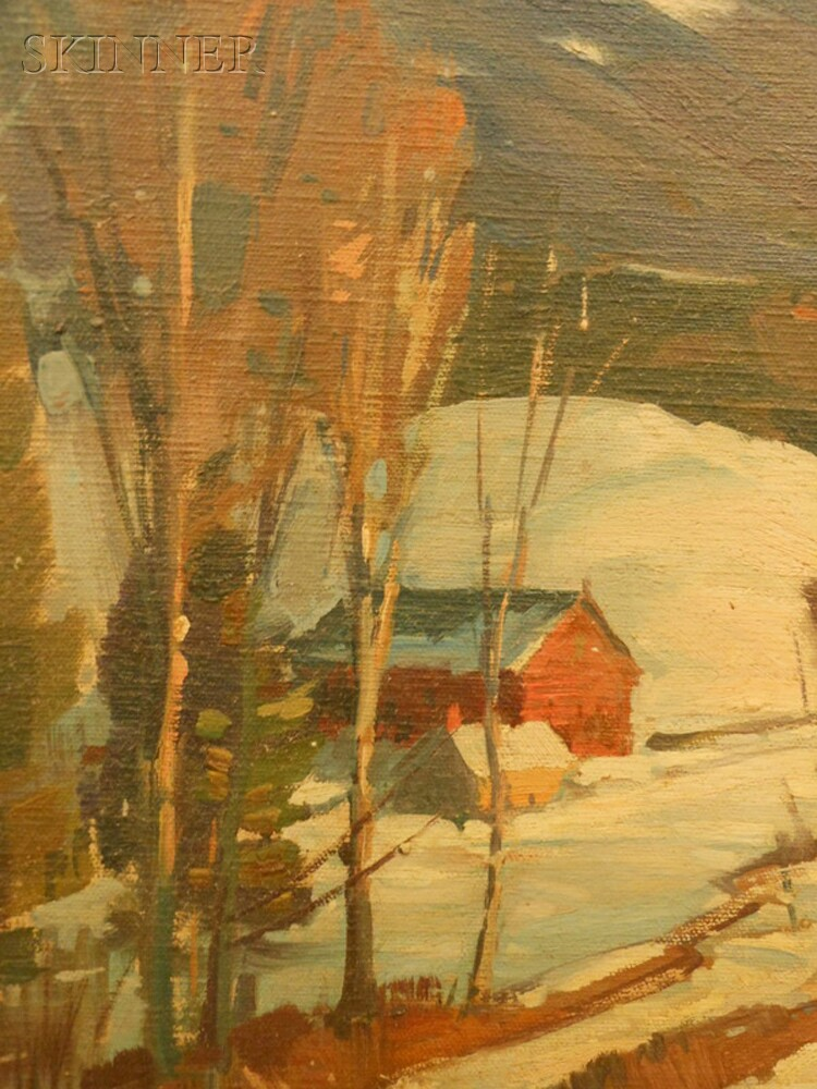 Aldro Thompson Hibbard (American, 1886-1972)      Moosilauke Mountain, New Hampshire