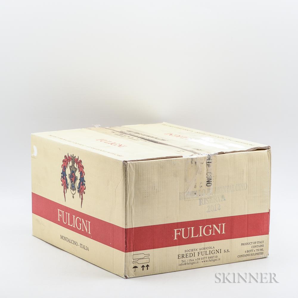 Fuligni Brunello di Montalcino Riserva 2012, 6 bottles (oc)