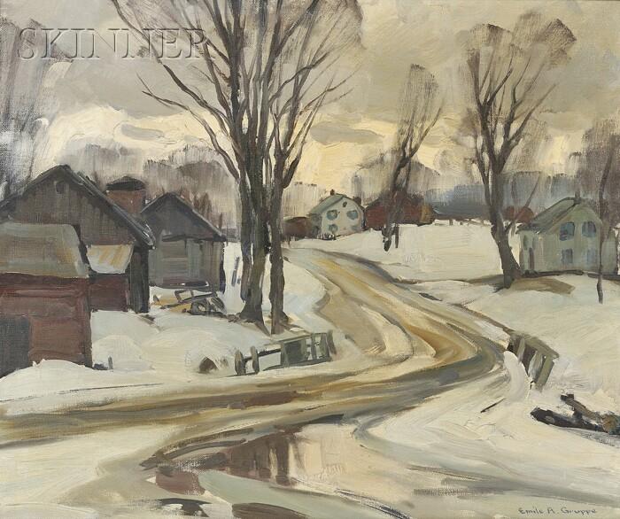 Emile Albert Gruppé (American, 1896-1978)      March Morning