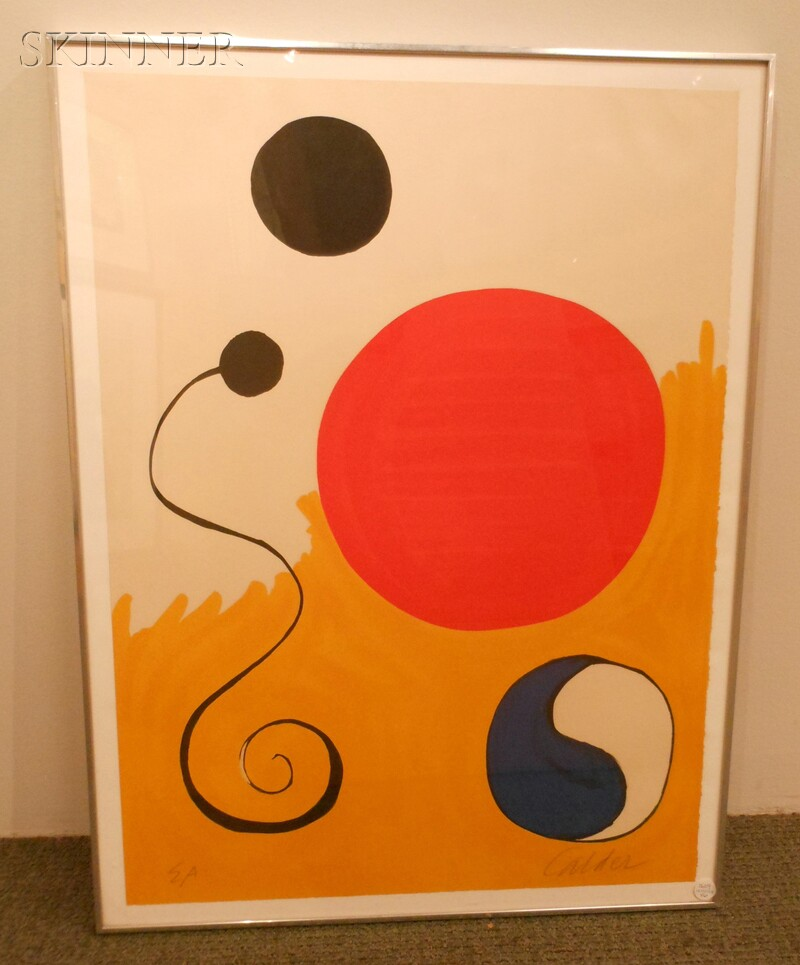 Alexander Calder (American, 1898-1976)      For Young Artists